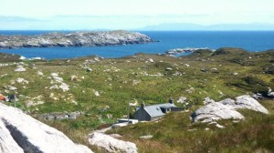 Flodabay Farm, nestled in the stunning Hebridean landscape